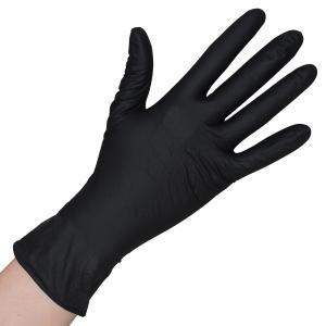 Nitril-Handschuh schwarz