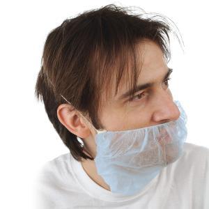 PP-Bartschutz, blau