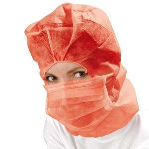 PP-Astrohaube mit Mundschutz