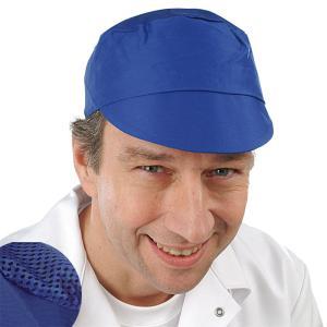 """Schildmütze mit """"AF""""Oberteil royalblau"""