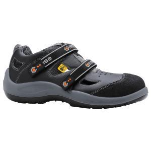 BASE B493 Sicherheits-Sandale DOUBLE BLACK S1P SRC ESD