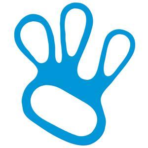 Handschuhspanner blau