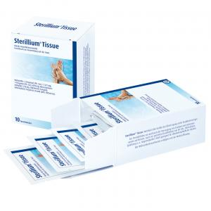 BODE Sterillium° Desinfektionstücher, Packung mit 10 Tücher