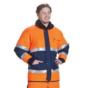 ColdTex Tiefkühl Mantel marineblau: : Bekleidung