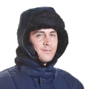 ColdTex Kälteschutz Pelzmütze mit Ohrenklappen