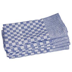 Leiber Touchon (Grubentuch) blau/weiß