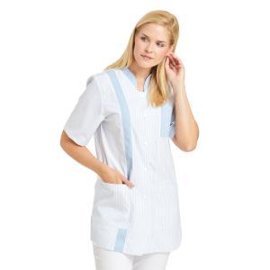 Leiber Damenkasack 1/2-Arm mit Stehkragen