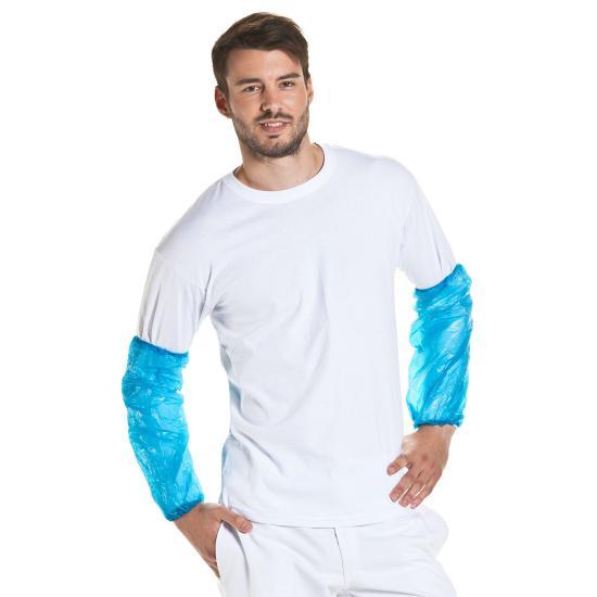 PE-Ärmelschoner MM,  extra stark blau