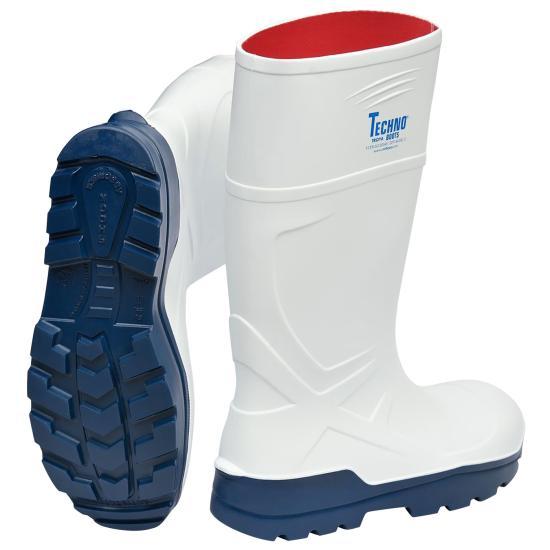 Techno Boot PU-Sicherheitsstiefel TROYA weiß S4