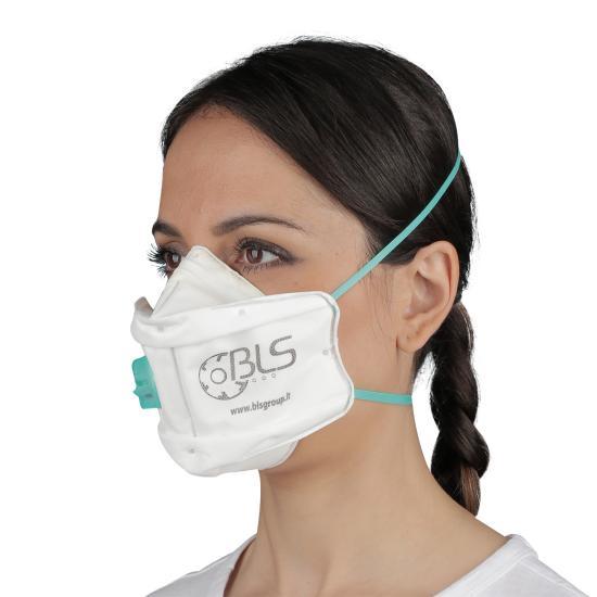 BLS 860 Flickit Feinstaub-Maske FFP3 NR D