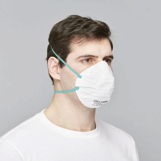 BLS 128 BW Classic Feinstaub-Maske FFP2 R D