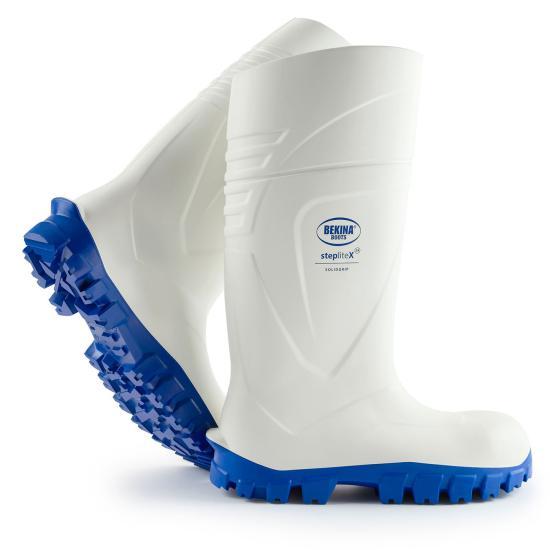 Bekina Boots PU-Stiefel  Steplite X  weiß S4