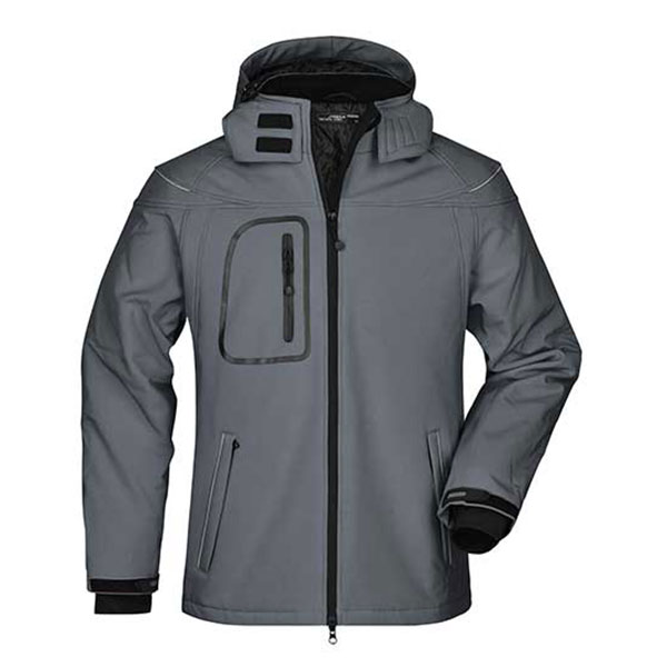 Herren Winter Softshelljacke | James & Nicholson