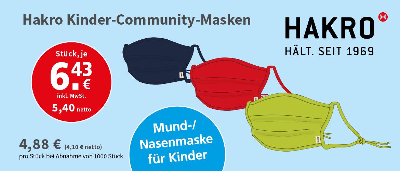 Slider Hakro Kinder Masken
