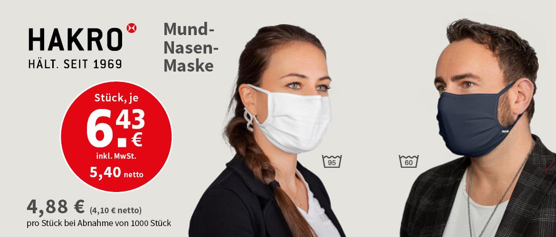 Slider Hakro Masken
