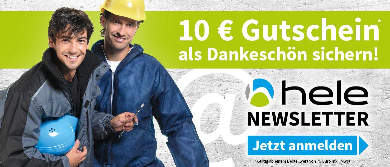 Slider Gutschein Newsletter